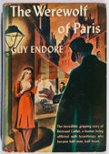 Books:Horror & Supernatural, Guy Endore. The Werewolf of Paris. Triangle, 1943. Lateredition. Toning. Rubbing. Spine sunned. Good....