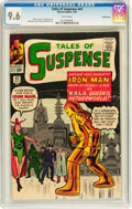 Silver Age (1956-1969):Superhero, Tales of Suspense #43 Pacific Coast pedigree (Marvel, 1963) CGC NM+ 9.6 White pages....