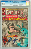 Silver Age (1956-1969):Superhero, Fantastic Four #33 (Marvel, 1964) CGC NM/MT 9.8 White pages....