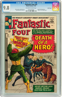 Fantastic Four #32 Pacific Coast pedigree (Marvel, 1964) CGC NM/MT 9.8 Off-white to white pages