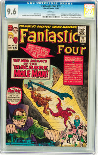 Fantastic Four #31 (Marvel, 1964) CGC NM+ 9.6 White pages