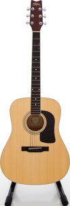 Musical Instruments:Acoustic Guitars, 2000s Washburn D8K Natural Acoustic Guitar, Serial # SC00095854....