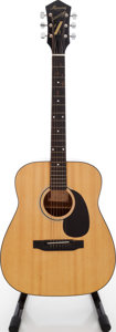 Musical Instruments:Acoustic Guitars, 1970s Harmony Sovereign Natural Acoustic Guitar....
