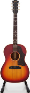 Musical Instruments:Acoustic Guitars, 1960s Gibson B-25 Cherry Sunburst Acoustic Guitar, Serial # 100743....