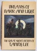 Books:Horror & Supernatural, Tanith Lee. Dreams of Dark and Light. Arkham House, 1986.First edition, first printing. Minor rubbing and a few spo...