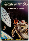Books:Science Fiction & Fantasy, Arthur C. Clarke. Islands in the Sky. Winston, 1952. Firstedition, first printing. Light rubbing with sunning t...