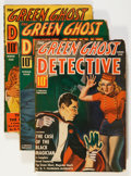 Pulps:Detective, Green Ghost Pulps Group (Various, 1940-43) Condition: Average GD/VG.... (Total: 13 Comic Books)
