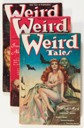 Pulps:Horror, Weird Tales Margaret Brundage Group (Popular Fiction, 1938)Condition: Average GD/VG.... (Total: 6 Comic Books)