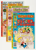 Bronze Age (1970-1979):Cartoon Character, Richie Rich and His Girlfriends #1-18 File Copy Group (Harvey,1979-82) Condition: Average NM-.... (Total: 48 Comic Books)