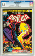 Bronze Age (1970-1979):Horror, Tomb of Dracula #27 (Marvel, 1974) CGC NM+ 9.6 White pages....