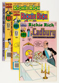Bronze Age (1970-1979):Cartoon Character, Richie Rich and Cadbury File Copy Group (Harvey, 1971-91) Condition: Average NM-.... (Total: 64 Comic Books)