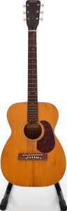 Musical Instruments:Acoustic Guitars, Circa 1958 Gretsch Model 6003 Grand Concert aka Jimmie RodgersNatural Acoustic Guitar, Serial # 29811....