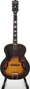 Musical Instruments:Acoustic Guitars, 1960s Harmony Master Sunburst Archtop Acoustic Guitar, Serial #9460H945. ...