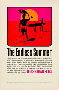 "The Endless Summer (Bruce Brown Films, 1966). Poster (11"" X 17"")"
