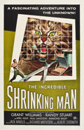 "Movie Posters:Science Fiction, The Incredible Shrinking Man (Universal International, 1957). One Sheet (27"" X 41""). Science Fiction.. ..."