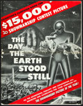 "Movie Posters:Science Fiction, The Day the Earth Stood Still (20th Century Fox, 1951). UncutPressbook (24 Pages, 14"" X 18"").. ..."