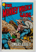 Books:Fiction, Edward Abbey. The Monkey Wrench Gang. Dream Garden, 1985. Tenth Anniversary edition. Fine....