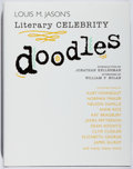 Books:Art & Architecture, Louis M. Jason. INSCRIBED. Literary Celebrity Doodles. Palm, 2004. First edition, first printing. Signed and inscr...