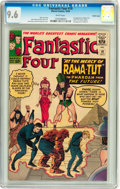 Silver Age (1956-1969):Superhero, Fantastic Four #19 Pacific Coast pedigree (Marvel, 1963) CGC NM+9.6 White pages....