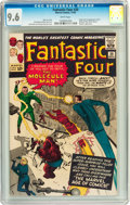 Silver Age (1956-1969):Superhero, Fantastic Four #20 (Marvel, 1963) CGC NM+ 9.6 White pages....