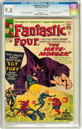 Silver Age (1956-1969):Superhero, Fantastic Four #21 Pacific Coast pedigree (Marvel, 1963) CGC NM/MT 9.8 Off-white to white pages....