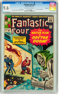 Fantastic Four #23 Pacific Coast pedigree (Marvel, 1964) CGC NM+ 9.6 Off-white to white pages