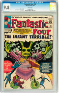 Silver Age (1956-1969):Superhero, Fantastic Four #24 (Marvel, 1964) CGC NM/MT 9.8 White pages....