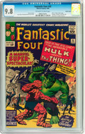 Silver Age (1956-1969):Superhero, Fantastic Four #25 Pacific Coast pedigree (Marvel, 1964) CGC NM/MT9.8 Off-white to white pages....