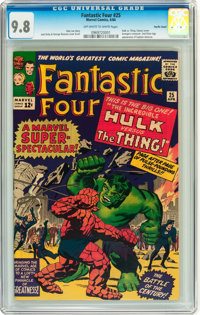 Fantastic Four #25 Pacific Coast pedigree (Marvel, 1964) CGC NM/MT 9.8 Off-white to white pages