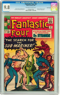 Fantastic Four #27 Pacific Coast pedigree (Marvel, 1964) CGC NM/MT 9.8 Off-white to white pages