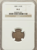 Early Half Dimes: , 1800 H10C Fair 2 NGC. NGC Census: (1/148). PCGS Population (0/265).Mintage: 40,000. Numismedia Wsl. Price for problem free...