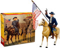 Baseball Cards:Sets, Vintage Hartland - 1950's General George Armstrong Custer With Box. ...