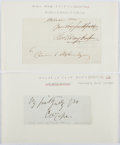 Autographs:Artists, Charles West Cope (British Artist, 1811-1890). Clipped Signature. Very good....