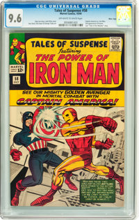 Tales of Suspense #58 Massachusetts pedigree (Marvel, 1964) CGC NM+ 9.6 Off-white to white pages