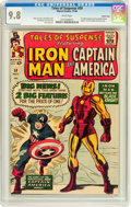 Silver Age (1956-1969):Superhero, Tales of Suspense #59 Pacific Coast pedigree (Marvel, 1964) CGCNM/MT 9.8 White pages....