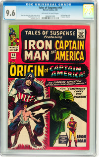 Tales of Suspense #63 (Marvel, 1965) CGC NM+ 9.6 Off-white to white pages