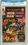 Silver Age (1956-1969):Superhero, Tales of Suspense #65 Pacific Coast pedigree (Marvel, 1965) CGC NM/MT 9.8 White pages....