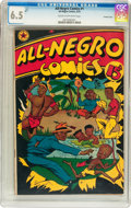 Golden Age (1938-1955):Humor, All-Negro Comics #1 Crowley Copy pedigree (All-Negro Comics, 1947) CGC FN+ 6.5 Cream to off-white pages....