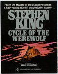 Books:Horror & Supernatural, Bernie Wrightson [illustrator]. Stephen King. Cycle of theWerewolf Prospectus/Folding Poster. Signet, 1983. Fol...