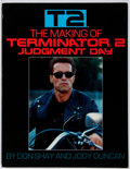 Books:Science Fiction & Fantasy, Don Shay, et al. SIGNED. The Making of Terminator 2. Bantam, 1991. First edition, first printing. Signed by Jenett...