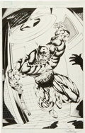 Original Comic Art:Splash Pages, Bart Sears and Rob Hunter Captain America and the Falcon #3Splash Page 22 Original Art (Marvel, 2004)....