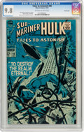 Silver Age (1956-1969):Superhero, Tales to Astonish #98 Pacific Coast pedigree (Marvel, 1967) CGC NM/MT 9.8 Off-white to white pages....