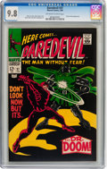 Silver Age (1956-1969):Superhero, Daredevil #37 (Marvel, 1968) CGC NM/MT 9.8 Off-white to whitepages....