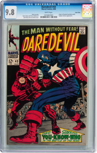 Daredevil #43 Twin Cities pedigree (Marvel, 1968) CGC NM/MT 9.8 White pages