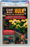 Silver Age (1956-1969):Superhero, Tales to Astonish #69 Pacific Coast pedigree (Marvel, 1965) CGCNM/MT 9.8 White pages....