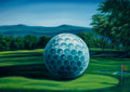 Latin American:Contemporary, ENRIQUE AVILA GONZALEZ (Cuban, 20th Century). Golf. Oil oncanvas. 32 x 50 inches (81.3 x 127 cm). Signed lower right: ...