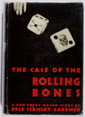Books:Mystery & Detective Fiction, [Erle Stanley Gardner]. A. A. Fair. The Case of the RollingBones. William Morrow, 1939. First edition. Lightly tone...