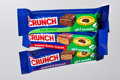 "Movie/TV Memorabilia:Memorabilia, LIVE EVENT BIDDING: NESTLÉ® CRUNCH® ""WORLD'S MOST VALUABLE CANDYBARS"" First framed set of the three limited edition Nestlé ..."