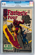 Silver Age (1956-1969):Superhero, Fantastic Four #69 Pacific Coast pedigree (Marvel, 1967) CGC NM/MT9.8 White pages....