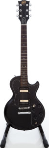 Musical Instruments:Electric Guitars, 1980 Gibson Sonex-180 Deluxe Black Solid Body Electric Guitar,Serial # 83470558....